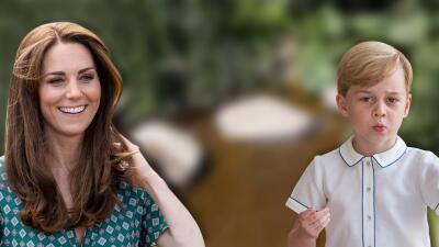 El príncipe George tuvo un deseo muy especial para el jardín de su madre y Kate Middleton se lo cumplió