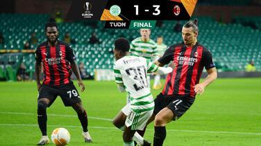 AC Milan vence al Celtic y sigue invicto en la temporada 2020-21