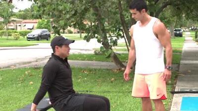 Alejandro Chabán nos enseña ejercicios para acelerar el metabolismo y quemar más calorías