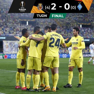 Villarreal consumó el trámite y avanzó a Cuartos de Europa League
