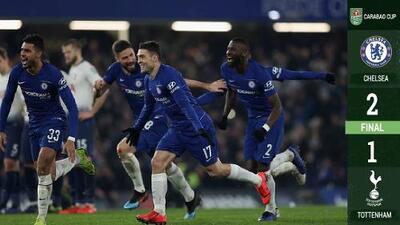 El Chelsea jugará la final la Copa de la Liga tras superar en los penaltis al Tottenham