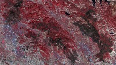 Así se ve desde el espacio la destrucción ocasionada por los incendios en el norte de California