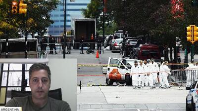 Argentino narra el drama que ha vivido tras la muerte de sus amigos en ataque en Nueva York