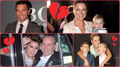 6 parejas de famosos que se dijeron 'adiós' por culpa de la suegra, los amigos o la prensa
