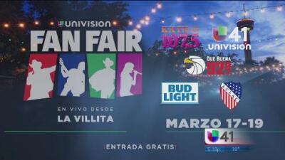 Arranca el Fan Fair de Univision en San Antonio