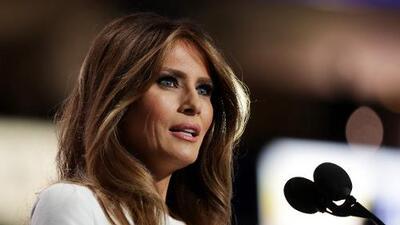 Melania Trump borra su página web tras ser acusada de mentir sobre su formación universitaria