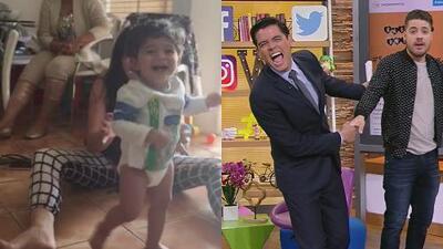 #DAImperdibles: El bebé de Orlando Segura y Catalina Mesa ya dio sus primeros pasos