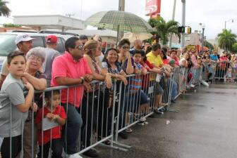 Radio Mambí en el desfile de los tres reyes m
