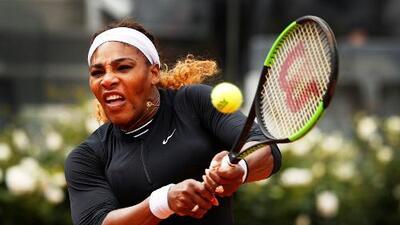 Serena Williams regresó a Roma con  victoria y va por su quinta corona