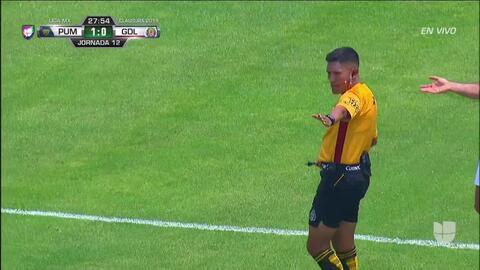 ¡GOOOL! Gael Sandoval anota para Guadalajara