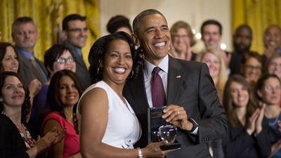 """Barack Obama: """"Ninguno de los maestros eligen esta profesión porque les hayan prometido un día corto de trabajo o un gran día de pago"""""""