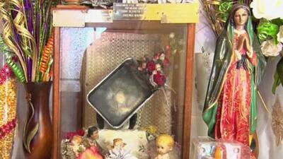 Aseguran que la imagen de la Virgen de Guadalupe apareció reflejada en un sartén