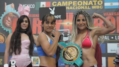 Mariana Juárez y Vanesa Taborda en peso