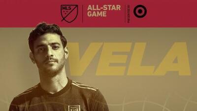 Carlos Vela será el capitán del Equipo de Estrellas de MLS que el 1 de agosto enfrentará a Juventus