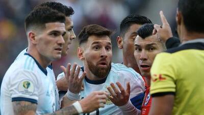 """""""Dichas acusaciones representan una falta de respeto"""": Conmebol responde a Messi"""