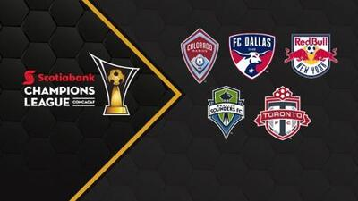 Los equipos de la MLS conocieron a sus rivales en los octavos de final de la Liga de Campeones