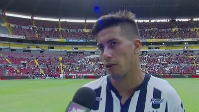 Maximiliano Meza lamentó la falta de puntería de Rayados sobre Atlas
