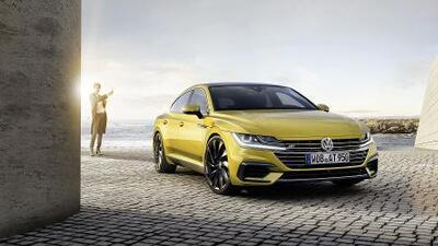 Volkswagen muestra en Ginebra su nuevo sedán de lujo, el Arteon Gran Turismo