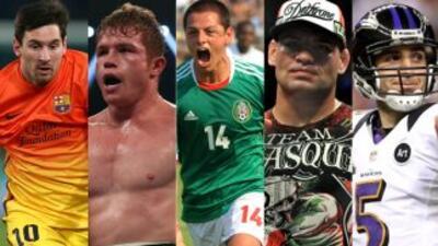 Los 10 deportistas a seguir en 2013