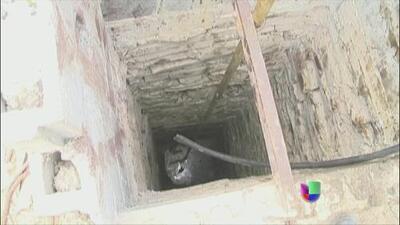 Imágenes de la fosa donde acribillaron a balazos a 17 músicos del grupo Kombo Kolombia