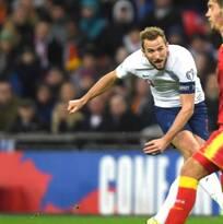 Inglaterra se pasea en Wembley ante Montenegro