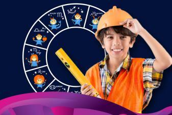 Las profesiones para los niños según su signo