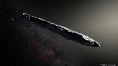 Este extraño asteroide fue descubierto en octubre y ahora buscan en él señales de vida extraterrestre