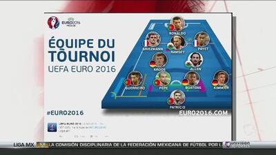 El 11 ideal de la EUROCOPA para la FIFA y Griezmann el mejor jugador