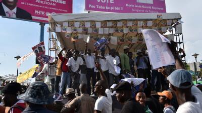 Los haitianos votan el domingo en busca de estabilidad política