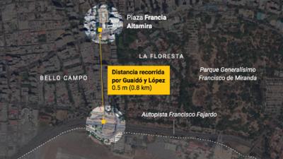 Cinco momentos que marcaron una jornada de caos y tensión en Venezuela