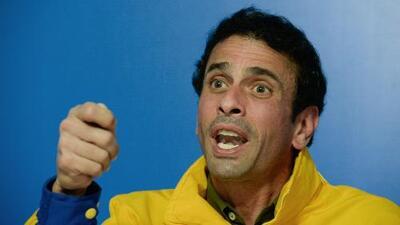 Líder venezolano Henrique Capriles renuncia a la Mesa de la Unidad Democrática