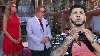 """Anuel AA no quiso hablar con El Gordo y La Flaca porque lo """"tratan mal"""": el tras bastidores completo de PJ"""