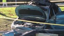 Niña de dos años muere tras estrellarse el carro que conducía su mamá en Stevenson Ranch