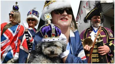 Reina la extravagancia entre los primeros invitados en llegar a Windsor para la boda real