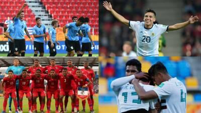 Balance latinoamericano en el Sub-20: Uruguay y Argentina se destacan, Panamá en Octavos y México en casa