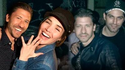 Expareja del fallecido Renato López se compromete con el mejor amigo del actor