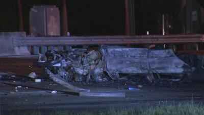 El auto llegaba a las 132 mph: se conocen nuevos detalles del accidente que cobró la vida de dos personas en la I-95