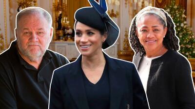 Mientras Meghan Markle celebró la Navidad con la familia real, sus padres pasaron la fecha muy diferente