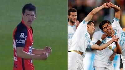 ¡Deja vu! 'Chucky' y 'Guti' marcaron 'el mismo' gol con PSV y con Pachuca