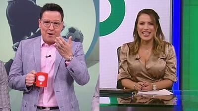 Raúl González agradeció conmovido el bello gesto de Lindsay Casinelli por su regreso a Despierta América
