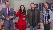 Francisca Lachapel quedó cautivada con la voz imposible de confundir del actor cubano César Évora