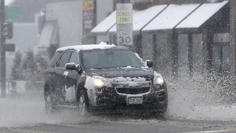 En un minuto: un nuevo 'ciclón bomba' azotará al Medio Oeste con lluvias y nieve