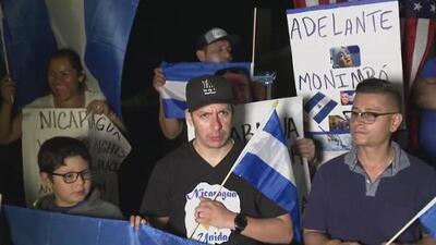 Que Ortega se vaya: comunidad nicaragüense en el sur de California pide que pare la violencia en su país