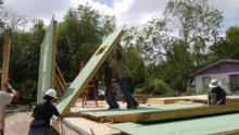 Las viviendas de emergencia texanas que prometen revolucionar la respuesta a desastres naturales