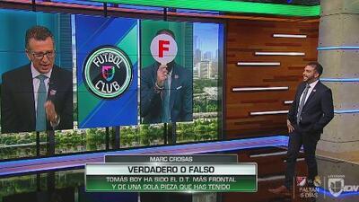 """Las confesiones de Marc Crosas en el juego """"¿Verdadero o Falso?"""""""