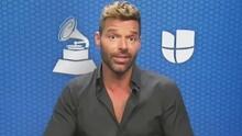 Ricky Martin alista su participación en los Latin GRAMMY y aclara el estado de salud de su papá