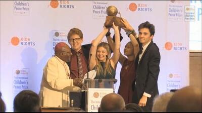 Movimiento de los jóvenes de Parkland gana el llamado 'Nobel de la Paz' de los niños