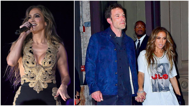 Jennifer Lopez y Ben Affleck no se separaron en el festival Global Citizen 2021