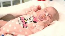 Conoce a Naiara, la recién nacida más pequeña del mundo en recibir este tipo de trasplante de corazón