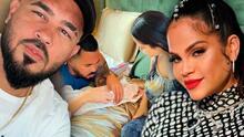 """""""Yo sé lo que hago"""": Raphy Pina, pareja de Natti Natasha, no quiere """"opiniones"""" para cuidar a su bebé"""